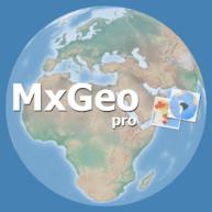 World atlas & map MxGeo Pro
