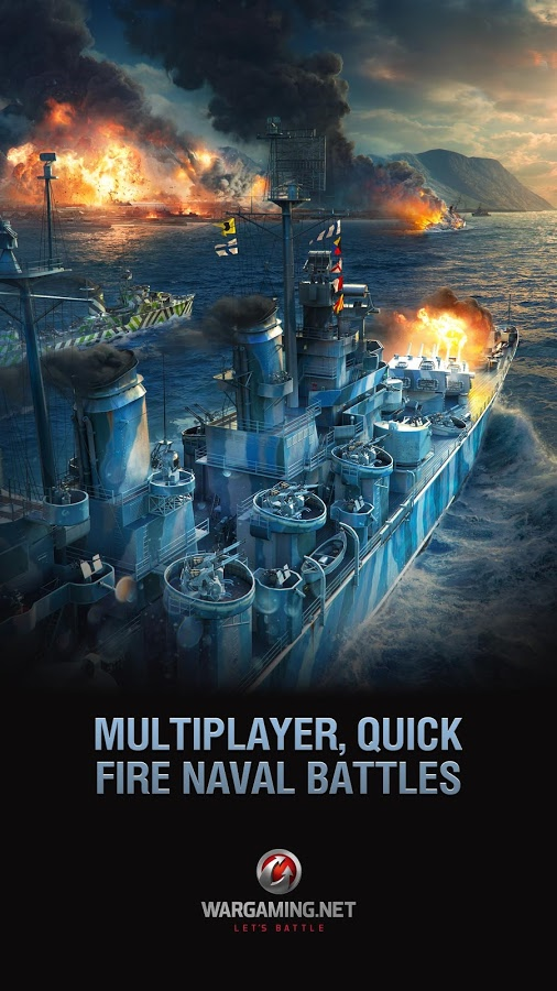 دانلود World of Warships Blitz 3.0.0 - بازی نبرد ناو ها اندروید + دیتا