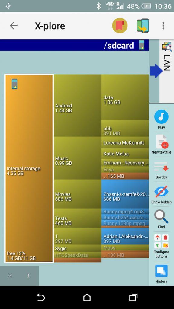 دانلود X-plore File Manager 4.01.03 - فایل منیجر قدرتمند اندروید + مود