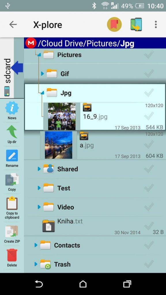 دانلود X-plore File Manager 4.01.10 - فایل منیجر قدرتمند اندروید + مود