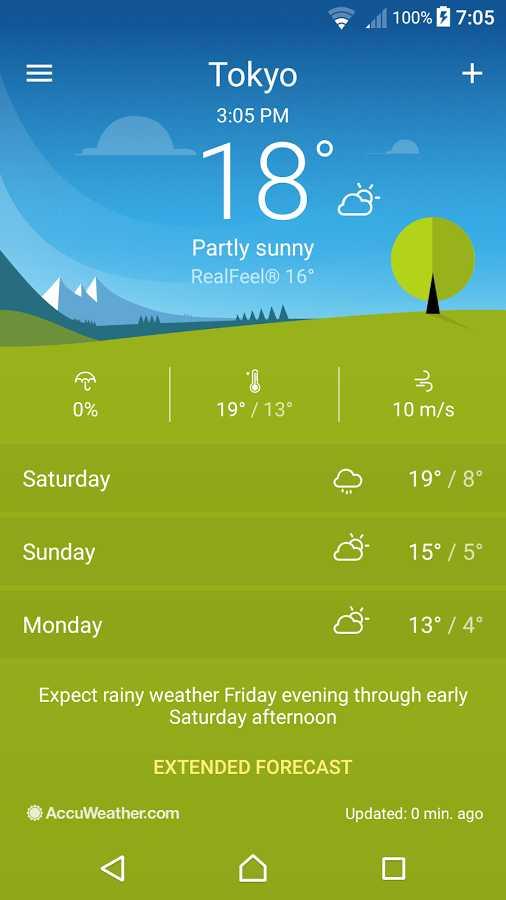 دانلود Xperia Weather 1.3.A.4.27 - برنامه هواشناسی شرکت سونی برای اندروید !