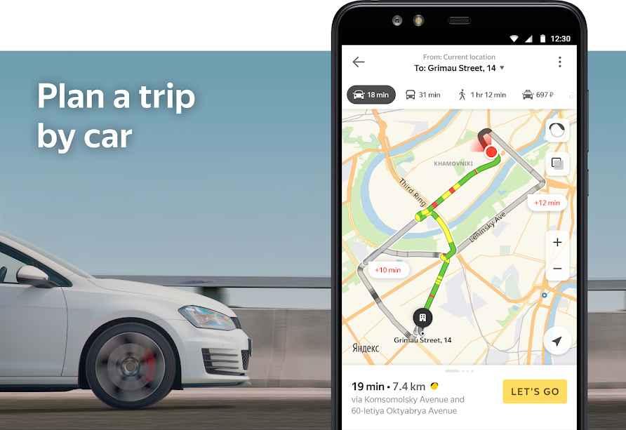 دانلود Yandex.Maps 9.1 - مسیریاب پر امکانات و آفلاین