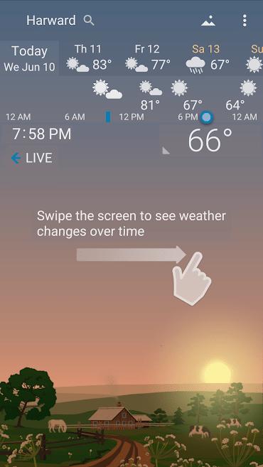 دانلود YoWindow Weather 2.18.7 - هواشناس زیبا و قدرتمند اندروید + ویندوز