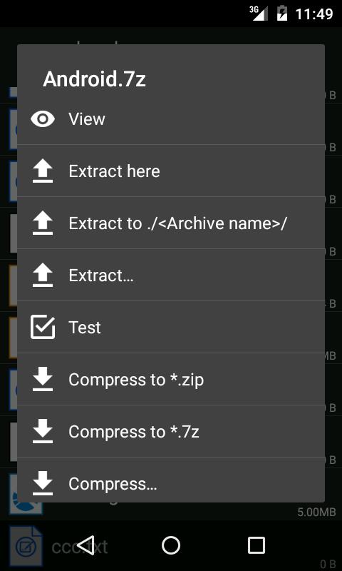 دانلود ZArchiver Donate 0.9.2 - مدیریت فایل قدرتمند