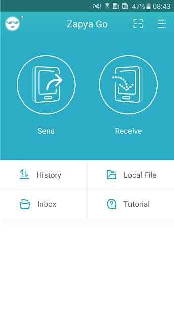 دانلود Zapya Go- Free File Transfer & Sharing 1.4 - برنامه اشتراک گذاری سریع و آسان فایل