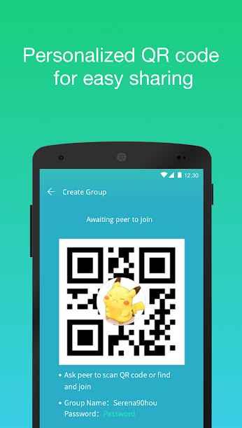 دانلود Zapya MiniShare - Mini Size File Transfer App 1.6.3 - برنامه کم حجم و فوق العاده