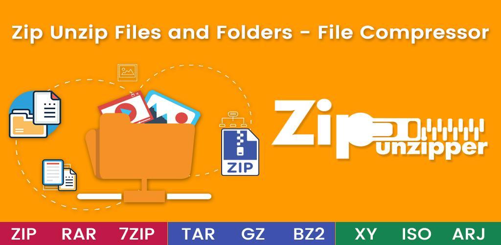 Zip Unzip Files and Folders - File Compressor