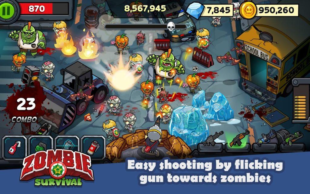 دانلود Zombie Survival: Game of Dead 3.2.0 - بازی اکشن مبارزه با زامبی ها اندروید + مود