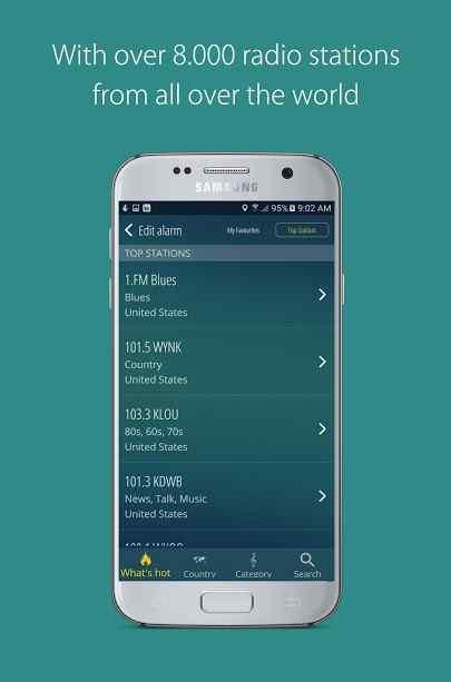 دانلود bedr Pro alarm clock radio 3.1.4 - برنامه آلارم بیداری با رادیو مخصوص اندروید!