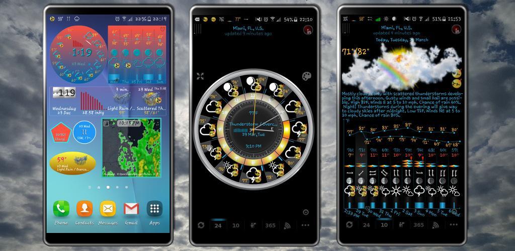 eWeather HD - weather, hurricanes, alerts, radar