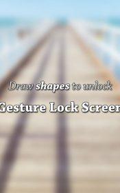 Gesture Lock Screen PRO