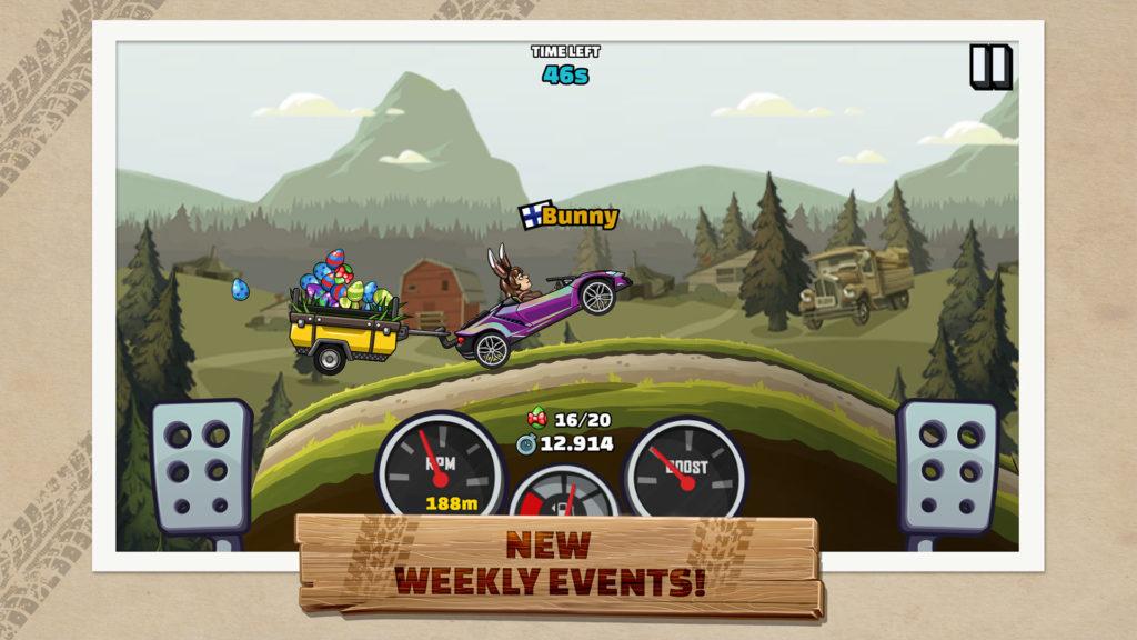 دانلود Hill Climb Racing 2 1.21.1 - بازی مسابقات صعود تپه 2 اندروید + مود
