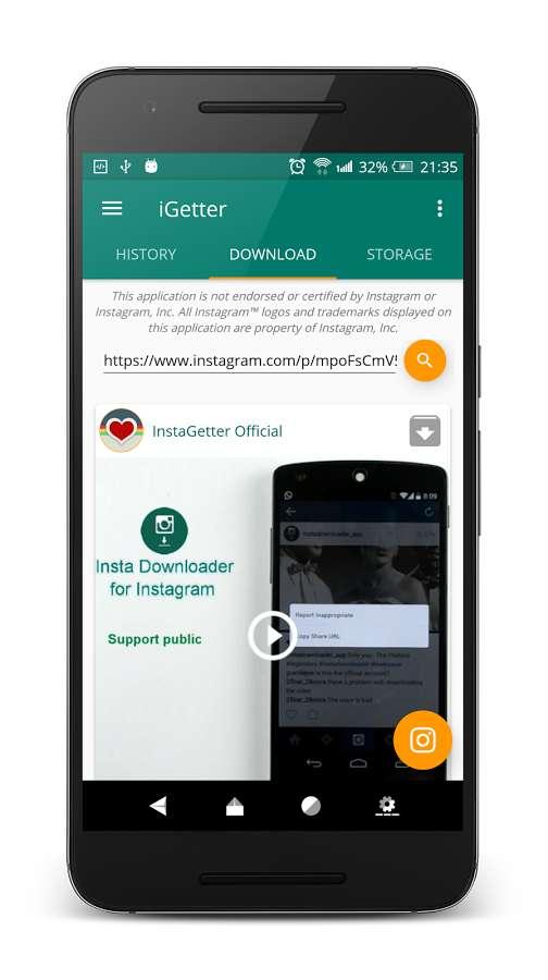 دانلود iGetter for Instagram Pro 4.4.27 - پلاگین اندروید دانلود عکس و فیلم اینستاگرام !