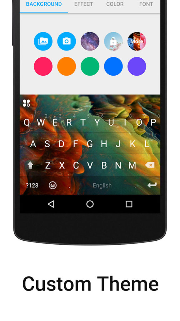 دانلود iKeyboard - emoji,emoticons 4.8.2.4002 - صفحه کلید عالی