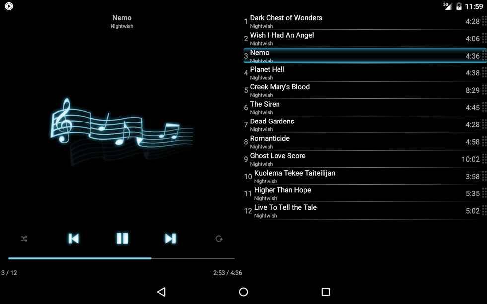 دانلود mMusic Mini Audio Player Premium 1.2.6.1 - موزیک پلیر ساده و فوق العاده اندروید!
