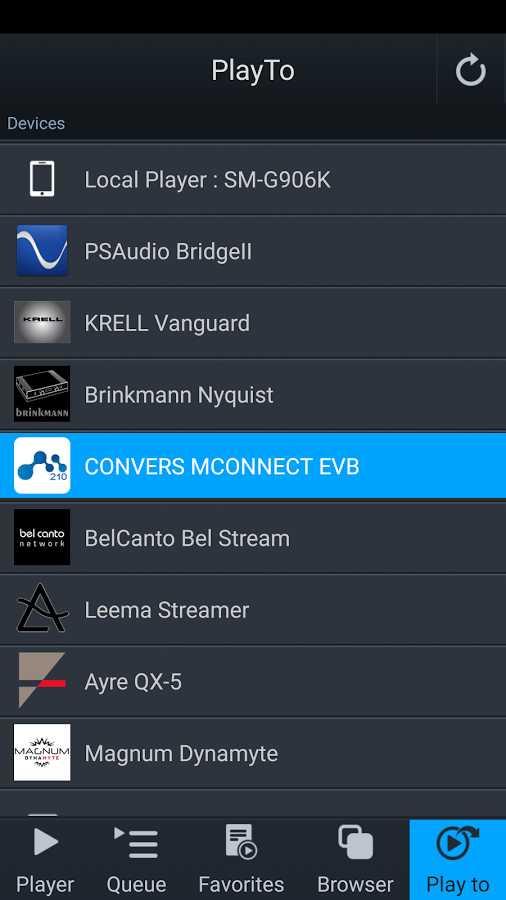 دانلود mconnect player 3.1.3 - پلیر صوتی تحت شبکه اندروید !