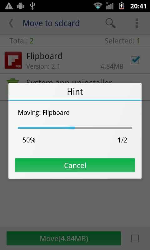 دانلود move app to sdcard pro 3.1.107 - ابزار انتقال سریع برنامه ها به اس دی کارت اندروید !