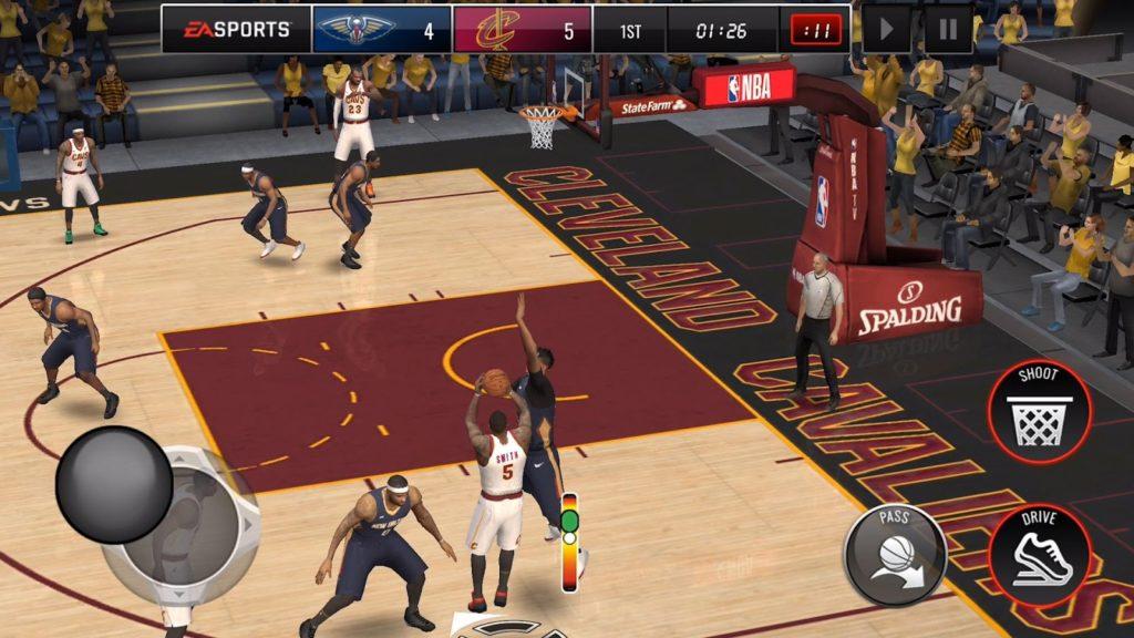 دانلود NBA LIVE Mobile Basketball 3.3.03 - بازی بسکتبال NBA اندروید + آسیا