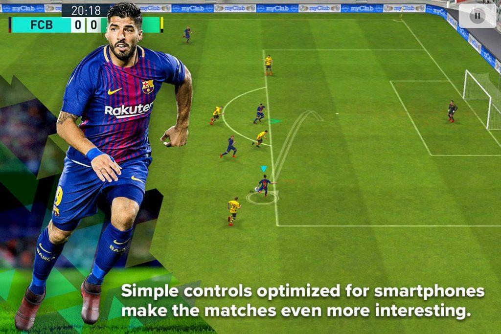 دانلود PES 2018 PRO EVOLUTION SOCCER 2.3.3 - بازی فوتبال پی اس 2018 اندروید + دیتا