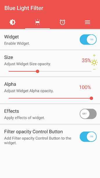 دانلود sFilter- Blue Light Filter Pro 1.9.0 - برنامه فیلتر قدرتمند نور آبی نمایشگر اندروید !