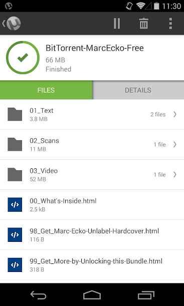 دانلود uTorrent® Pro – Torrent App Full 5.5.6 - کلاینت محبوب یو تورنت اندروید!
