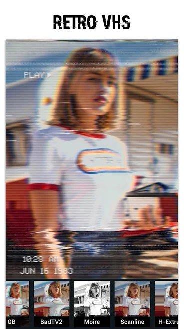 دانلود Glitch Photo Editor - glitch effect, vaporwave Premium 1.14.9 – اپلیکیشن ویرایش تصاویر با فیلتر های مدرن مخصوص اندروید