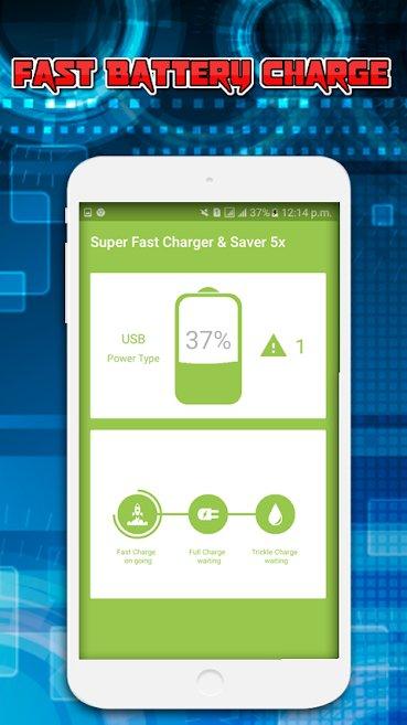 دانلود Fast Charging plus 1.0 – اپلیکیشن افزایش سرعت شارژ دستگاه اندروید!