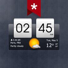 sense-flip-clock-weather-ad-free