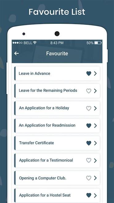 دانلود English Letter & English Application Writing Pro 1.0 - برنامه نامه نگاری انگلیسی مخصوص اندروید