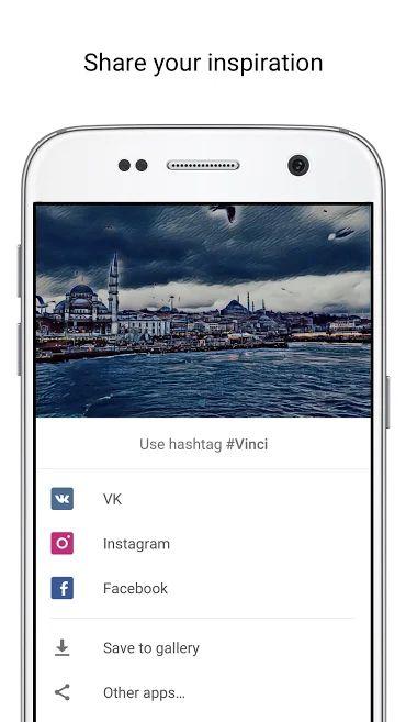 دانلود Vinci – AI photo filters Full 2.2 – اپلیکیشن تبدیل تصاویر به آثار هنری منحصر به فرد مخصوص اندروید