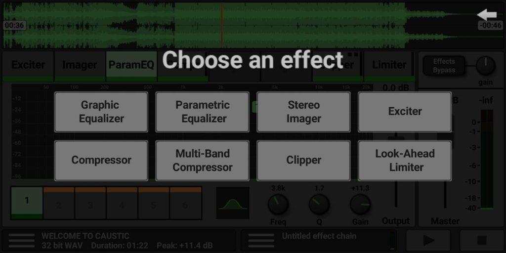 دانلود Caustic Mastering 1.0.0 – اپلیکیشن مسترینگ حرفه ای آهنگ ها مخصوص اندروید