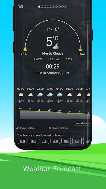 دانلود Weather Forecast Pro 1.0.0 – اپلیکیشن پیش بینی آب و هوا تا ۱۰ روز آینده مخصوص اندروید