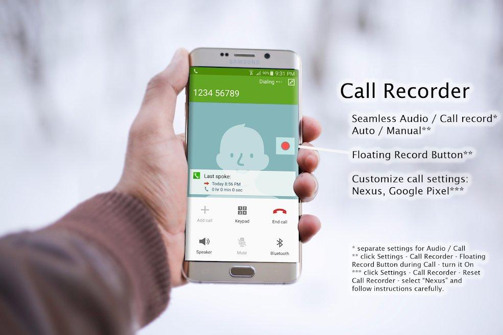 دانلود Hi-Res Audio Recorder - Voice Effect, Field Record Pro 0.10.78 – اپلیکیشن ضبط حرفه ای صدا با کیفیت بسیار بالا مخصوص اندروید