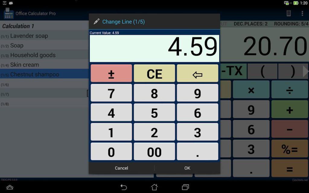 دانلود Office Calculator Pro 5.3.1 – اپلیکیشن ماشین حساب اداری مخصوص اندروید