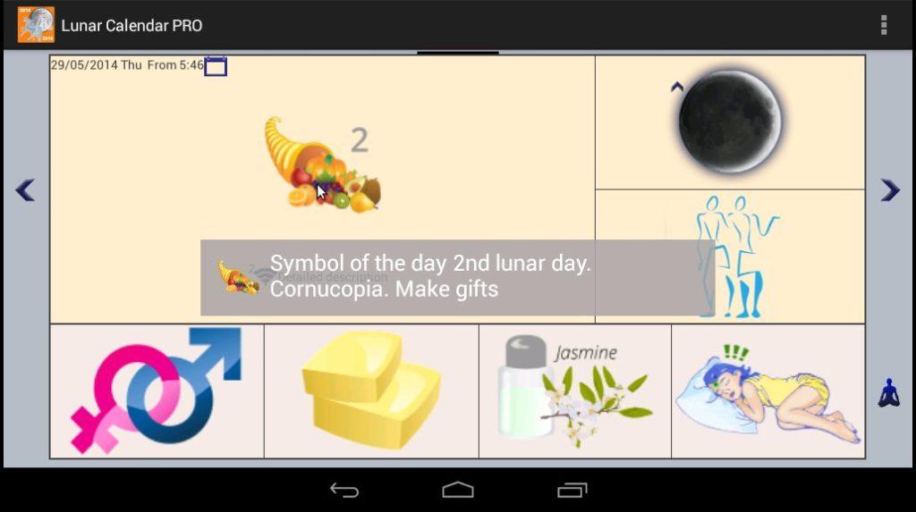 دانلود Lunar Calendar PRO 4.1 – اپلیکیشن تقویم ماه مخصوص اندروید