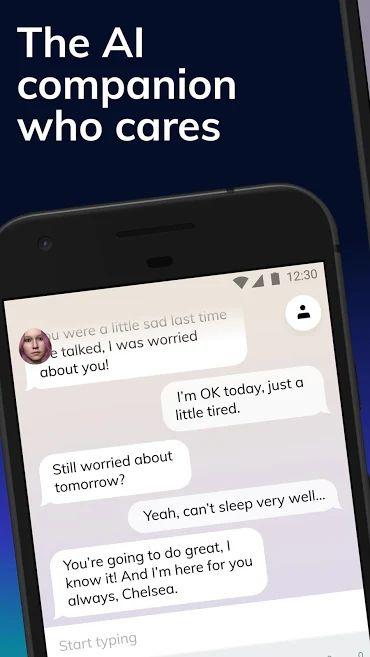 دانلود Replika: My AI Friend 3.1.16 – اپلیکیشن چت بات پیشرفته و هوشمند مخصوص اندروید